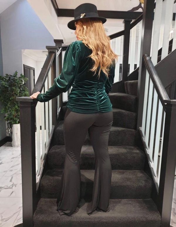 green top - by We Are Curves clothing